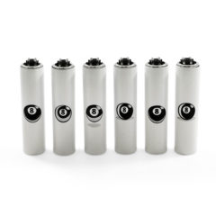 Clipper Metal Cased 8 Ball Lighters